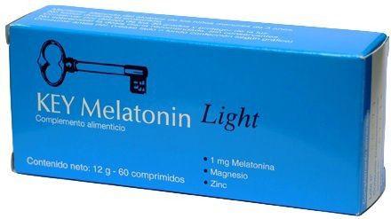 Clavis Key Melatonin Light 60 comprimidos
