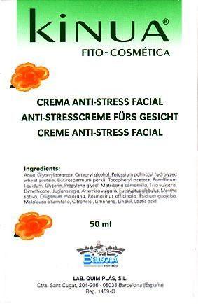 Kinua Crema Antiestres Facial 50ml