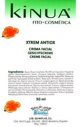 Kinua Crema Xtrem Antiox 50ml