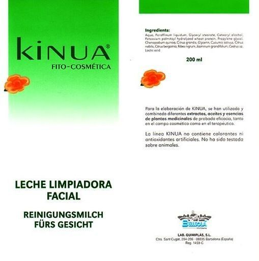Kinua Leche Limpiadora 200ml