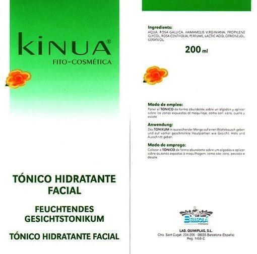 Kinua Tónico Hidratante Facial 200ml