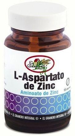 El Granero Integral L-Aspartato de Zinc 100 comprimidos