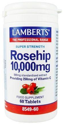 Lamberts Escaramujo-Rosehip 60 comprimidos