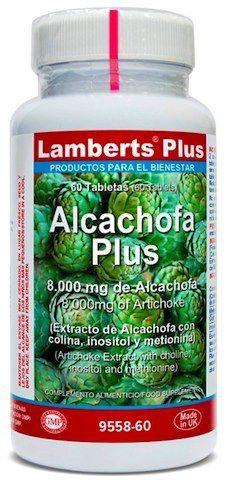 Lamberts Plus Alcachofa Plus 60 comprimidos