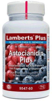 Lamberts Plus Antocianidin Plus 60 comprimidos