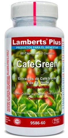 Lamberts Plus CafeGreen 60 cápsulas