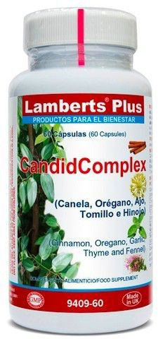Lamberts Plus CandidComplex 60 cápsulas