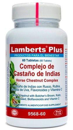 Lamberts Plus Complejo de Castaño de Indias 60 comprimidos