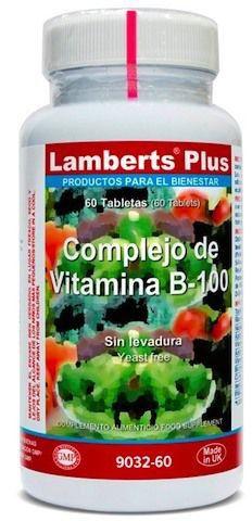 Lamberts Plus Complejo Vitamina B100 60 comprimidos