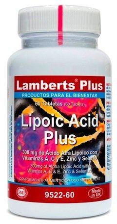 Lamberts Plus Lipoic Acid Plus 60 comprimidos