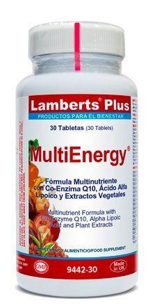 Lamberts Plus Multienergy 30 comprimidos