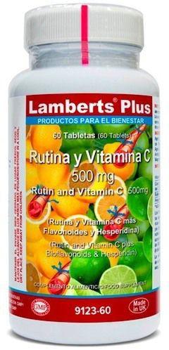 Lamberts Plus Rutina y Vitamina C 500mg 60 comprimidos