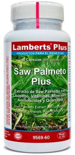 Lamberts Plus Saw Palmeto Plus 60 cápsulas