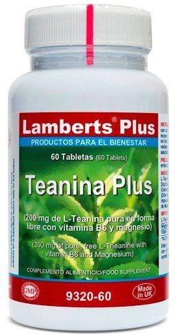 Lamberts Plus Teanina Plus 60 comprimidos