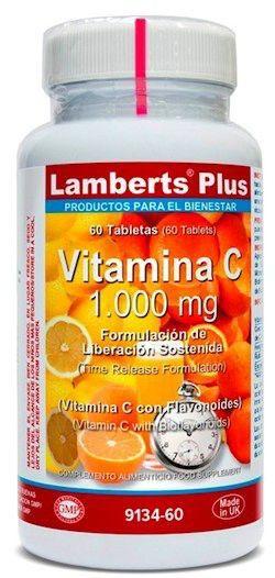 Lamberts Plus Vitamina C 1000mg Liberación Sostenida 60 comprimidos