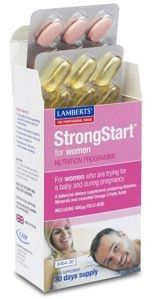 Lamberts StrongStar Mujeres 30 comprimidos + 30 cápsulas