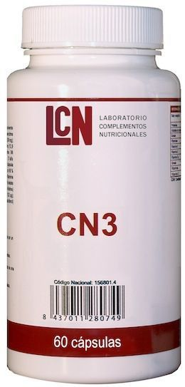 LCN CN 3 60 cápsulas