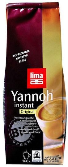 Lima Café de Cereales Yannoh Instantáneo Bio Recambio 250g