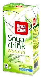 Lima Leche Soja Natural Bio 12u x 1 Litro