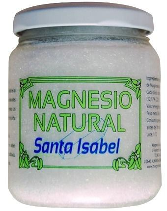 Santa Isabel Sales de Magnesio Naturales 240g