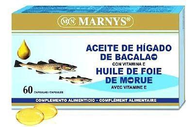 Marnys Aceite de Hígado de Bacalao 60 perlas