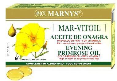 Marnys Aceite de Onagra 500mg 60 perlas