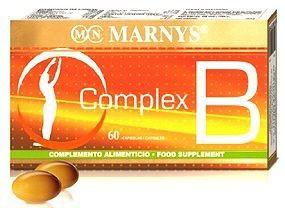 Marnys Complex B 60 perlas