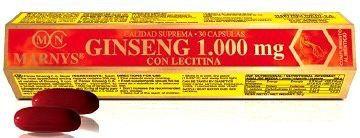 Marnys Ginseng con Lecitina 30 perlas