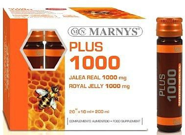 Marnys Jalea Real Plus 1000mg 20 ampollas
