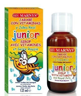 Marnys Jarabe Junior Multivitamina con Jalea 125ml