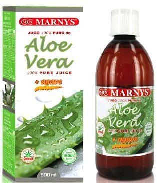 Marnys Jugo de Aloe Vera y Agave puro 500ml