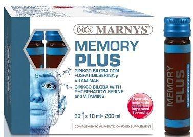 Marnys Memory Plus 20 ampollas