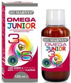 Marnys Omega 3 y 6 Junior jarabe 125ml