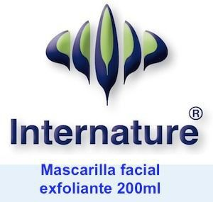 Internature Mascarilla Facial Exfoliante 200ml
