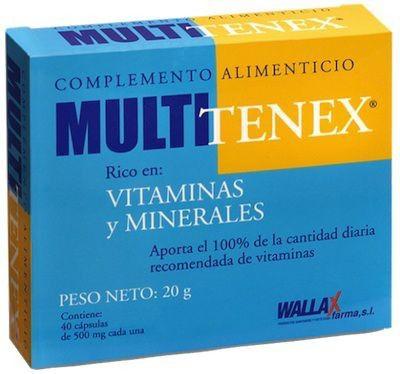 Wallax Farma Multi Tenex 40 cápsulas