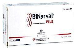 Narval Pharma Binarval Plus 60 cápsulas