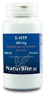 Naturbite 5-HTP 100mg 60 cápsulas
