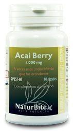 Naturbite Acai Berry 1000mg 60 cápsulas