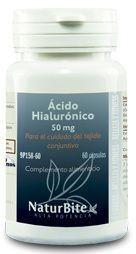 Naturbite Acido Hialuronico 50mg 60 cápsulas