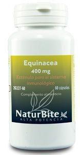 Naturbite Echinacea 400mg 60 cápsulas