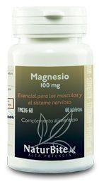 Naturbite Magnesio 100mg 60 comprimidos