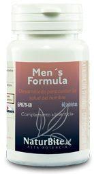Naturbite Mens Formula 60 comprimidos