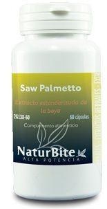 Naturbite Saw Palmetto 60 cápsulas