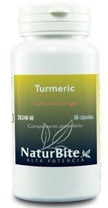Naturbite Turmeric 500mg 60 cápsulas