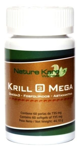 Nature Kare Wellness Krill Omega 60 perlas