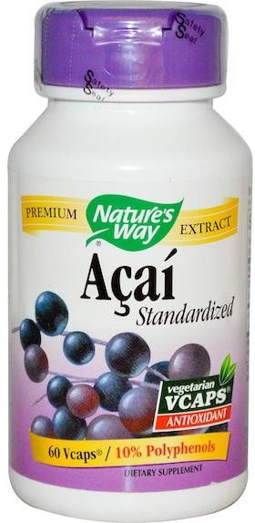 Nature's Way Açaí Estandarizado 60 cápsulas