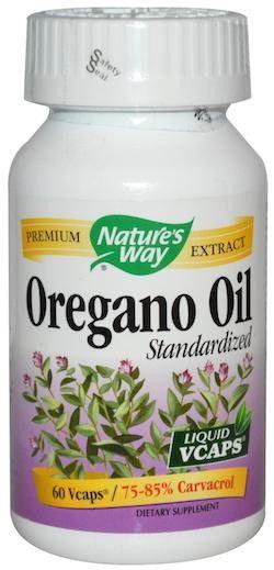 Nature's Way Aceite de Orégano Estandarizado 60 cápsulas