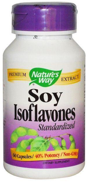 Nature's Way Isoflavonas de Soja Estandarizado 60 cápsulas