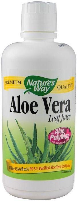 Nature's Way Zumo Aloe Vera Biológico 1 Litro