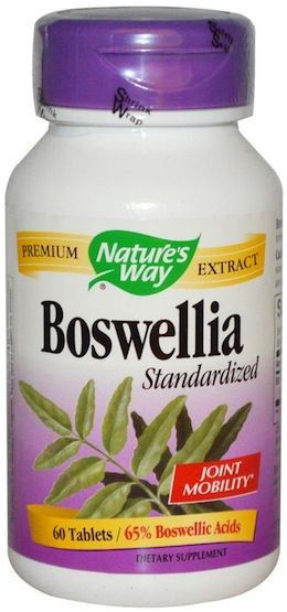 Nature's Way Boswellia Estandarizado 60 comprimidos
